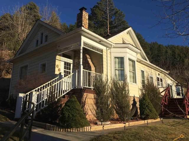 66 Lincoln Ave, Deadwood, SD 57783 (MLS #150757) :: Dupont Real Estate Inc.