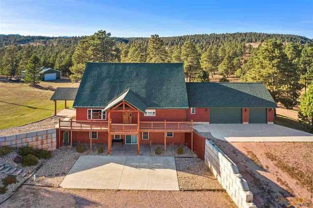 24485 Lakota View Ln, Hermosa, SD 57744 (MLS #151317) :: Heidrich Real Estate Team
