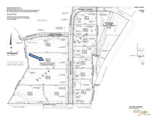 Lot 4 Dakota, Belle Fourche, SD 57717 (MLS #151885) :: Black Hills SD Realty
