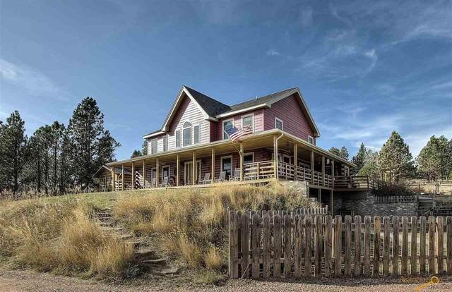24674 White Tail Rdg Rd, Hermosa, SD 57744 (MLS #152262) :: Heidrich Real Estate Team