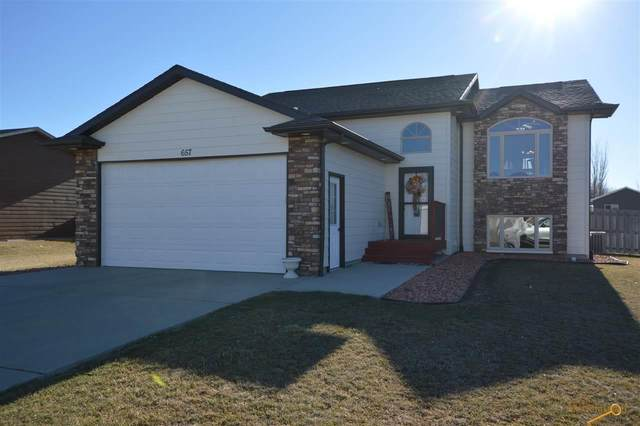 657 Flight Line Ct, Box Elder, SD 57719 (MLS #152273) :: Dupont Real Estate Inc.
