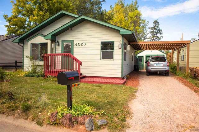 4026 Sunset Dr, Rapid City, SD 57702 (MLS #152675) :: Black Hills SD Realty