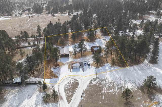 25357 Deer Meadow Rd, Custer, SD 57730 (MLS #152728) :: Heidrich Real Estate Team