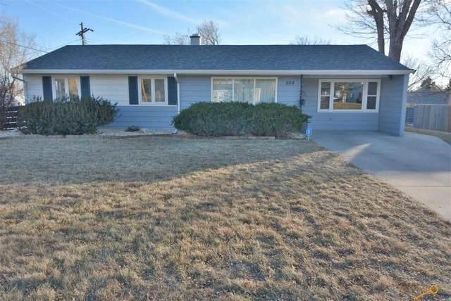 509 Robbins Dr, Rapid City, SD 57701 (MLS #152829) :: VIP Properties