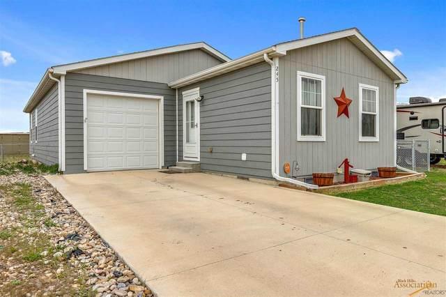 245 Trenton Ln, Box Elder, SD 57719 (MLS #154254) :: Heidrich Real Estate Team