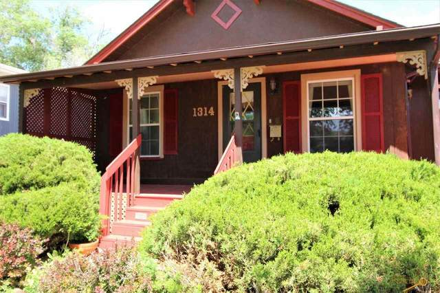 1314 Quincy, Rapid City, SD 57701 (MLS #154797) :: Black Hills SD Realty