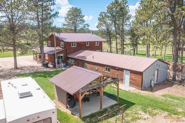 11952 Custer Limestone Rd, Custer, SD 57730 (MLS #155122) :: Heidrich Real Estate Team
