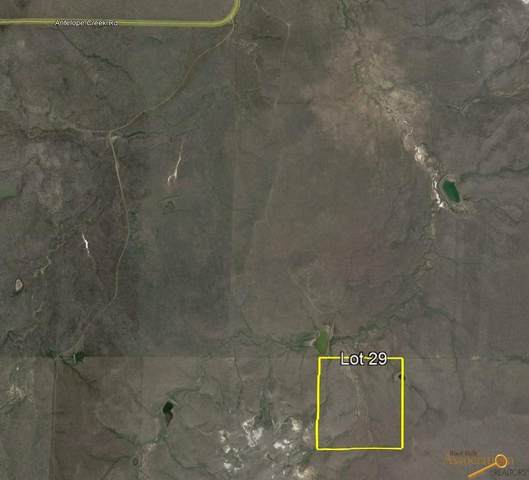 tbd Antelope Creek Rd, Caputa, SD 57725 (MLS #156303) :: Dupont Real Estate Inc.