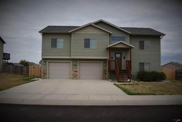 336 Edelweiss Ln, Box Elder, SD 57709 (MLS #156401) :: Heidrich Real Estate Team