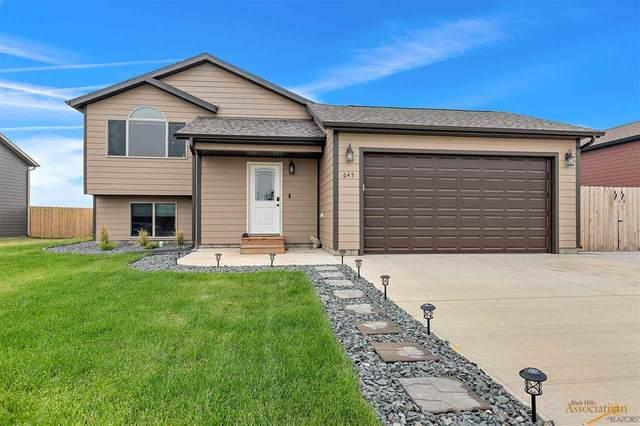 645 Liberty Park Dr, Box Elder, SD 57719 (MLS #156580) :: Heidrich Real Estate Team