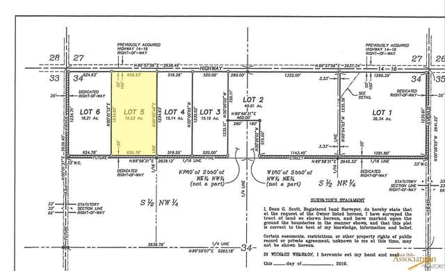 tbd Hwy 14 And Hwy 16, New Underwood, SD 57761 (MLS #145257) :: Heidrich Real Estate Team