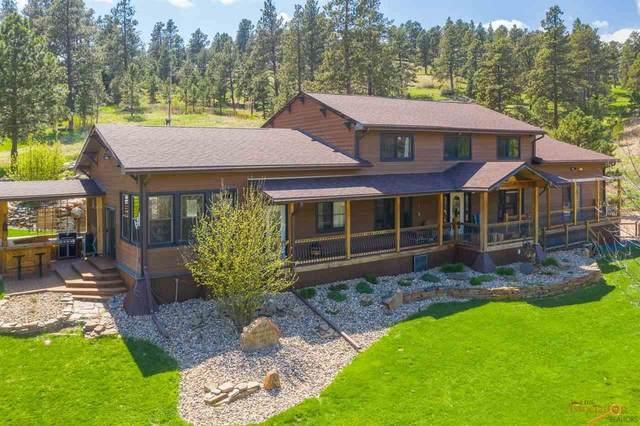 24747 Hidden Valley Rd, Hermosa, SD 57744 (MLS #148356) :: Heidrich Real Estate Team