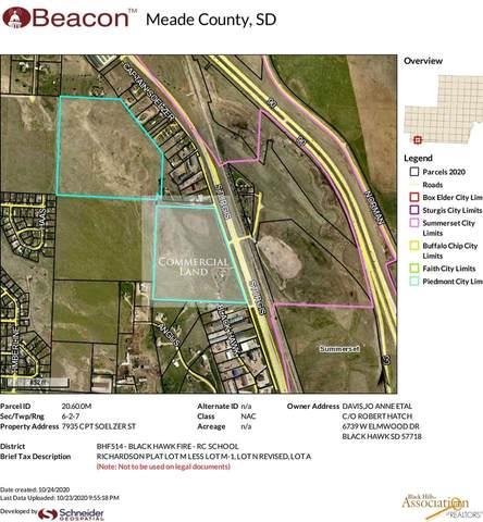 7935 Captain Soelzer St, Black Hawk, SD 57718 (MLS #151767) :: Heidrich Real Estate Team