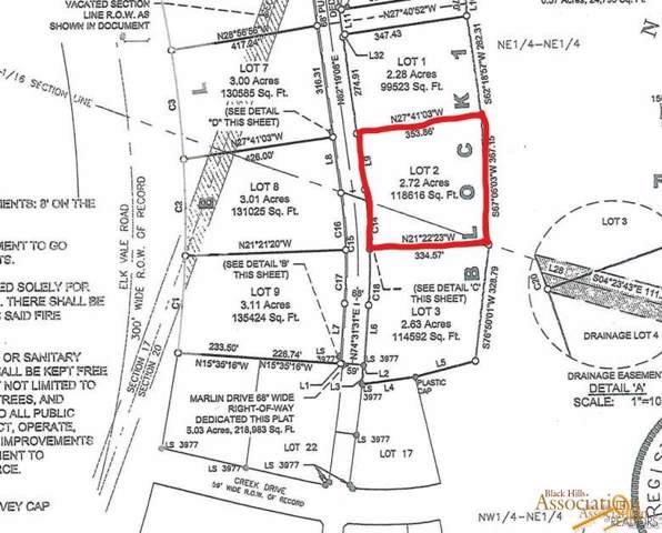 Lot 2 Block 1 Marlin Dr, Rapid City, SD 57701 (MLS #145308) :: Dupont Real Estate Inc.