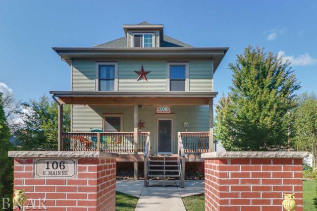 106 E Main, Downs, IL 61736 (MLS #2173430) :: Jacqui Miller Homes