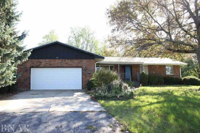 111 Boulder Dr, Gridley, IL 61744 (MLS #2174068) :: Janet Jurich Realty Group