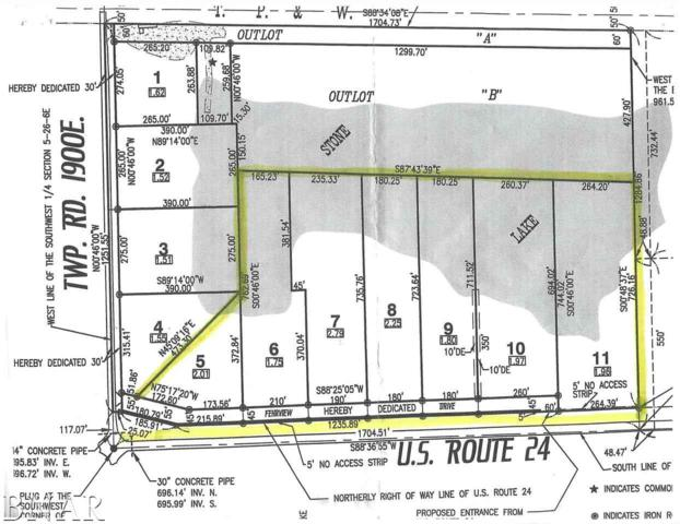 Lot 11 Stone Lake Estates, Fairbury, IL 61739 (MLS #2181367) :: BNRealty