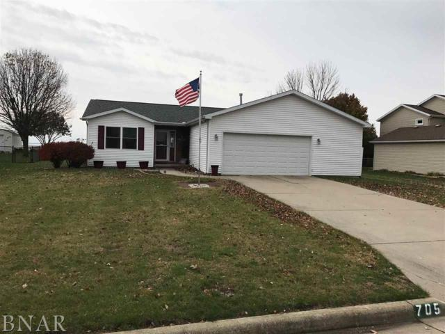705 Pettit, Hudson, IL 61748 (MLS #2184280) :: Berkshire Hathaway HomeServices Snyder Real Estate