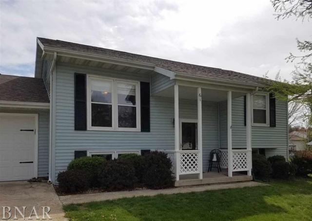 613 Arrowhead, Heyworth, IL 61745 (MLS #2171662) :: BNRealty