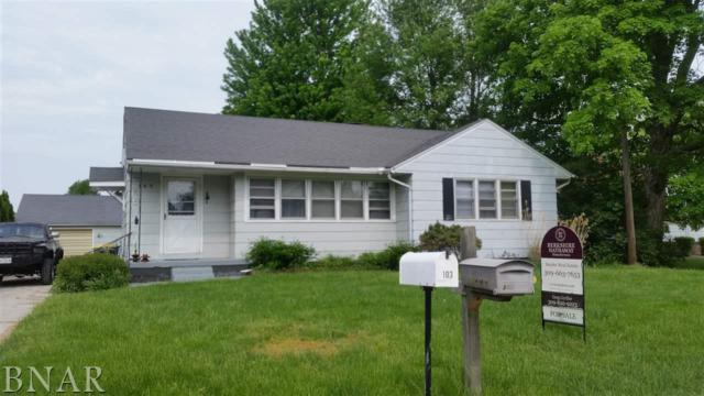 103 S Karr Street, Heyworth, IL 61745 (MLS #2181939) :: Janet Jurich Realty Group