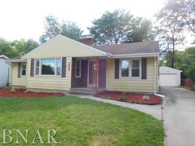 309 Oakdale Ave, Normal, IL 61761 (MLS #2172556) :: Berkshire Hathaway HomeServices Snyder Real Estate
