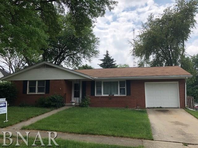 1408 Rosney, Bloomington, IL 61701 (MLS #2182008) :: Janet Jurich Realty Group