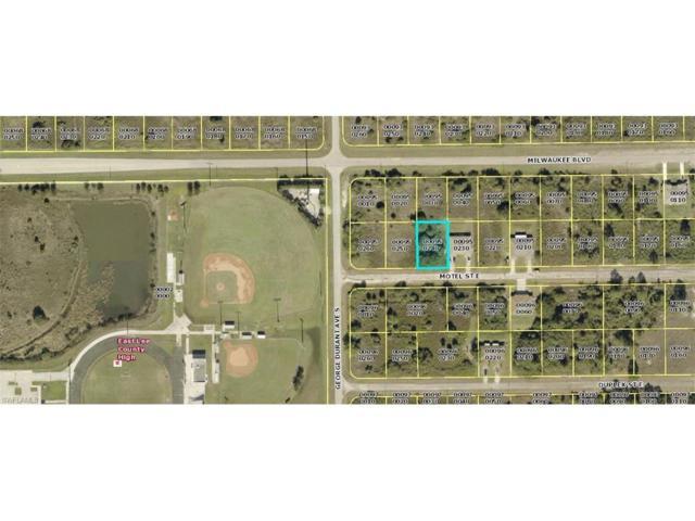 843 Motel St E, LEHIGH ACRES, FL 33974 (MLS #217056928) :: The New Home Spot, Inc.