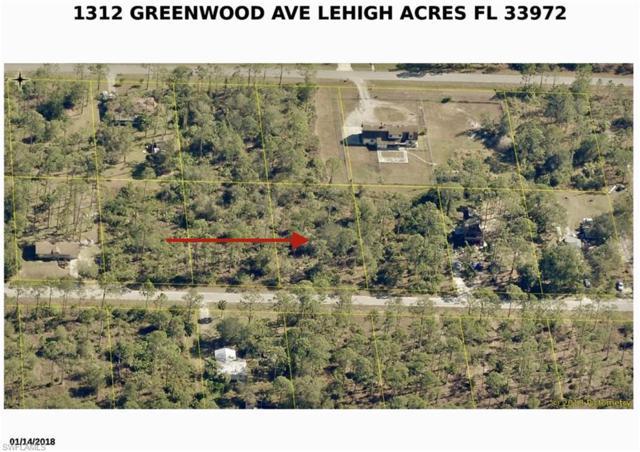 1312 Greenwood Ave, LEHIGH ACRES, FL 33972 (MLS #219013433) :: RE/MAX DREAM