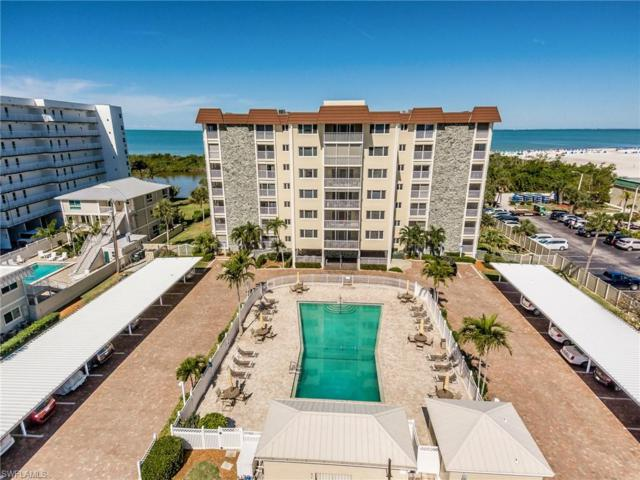 6900 Estero Blvd #701, FORT MYERS BEACH, FL 33931 (MLS #219031579) :: Palm Paradise Real Estate