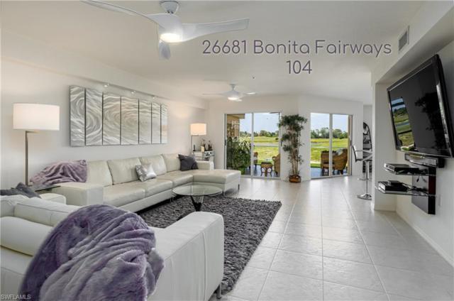 26681 Bonita Fairways Blvd #104, BONITA SPRINGS, FL 34135 (MLS #219039276) :: Palm Paradise Real Estate