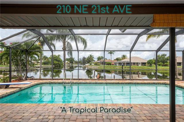 210 NE 21st Ave, CAPE CORAL, FL 33909 (MLS #219041538) :: Palm Paradise Real Estate