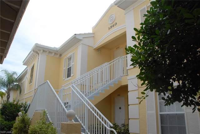 1350 Sweetwater Cv #103, NAPLES, FL 34110 (MLS #219057979) :: Clausen Properties, Inc.