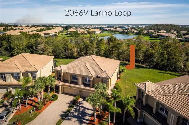 20669 Larino Loop, ESTERO, FL 33928 (MLS #219076274) :: The Naples Beach And Homes Team/MVP Realty