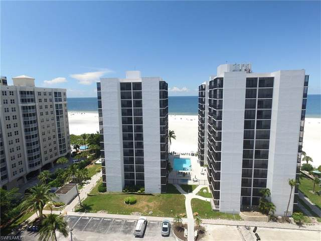 6612 Estero Blvd #303, FORT MYERS BEACH, FL 33931 (MLS #220043069) :: The Naples Beach And Homes Team/MVP Realty