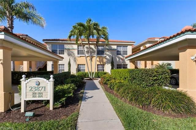 23871 Costa Del Sol Rd #103, ESTERO, FL 34135 (MLS #220055072) :: Florida Homestar Team
