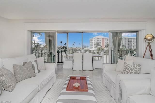 2750 Gulf Shore Blvd N #203, NAPLES, FL 34103 (MLS #221003260) :: Clausen Properties, Inc.