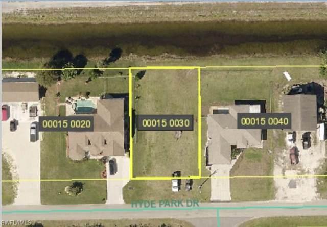 3758 Hyde Park Dr, FORT MYERS, FL 33905 (#221003712) :: Southwest Florida R.E. Group Inc