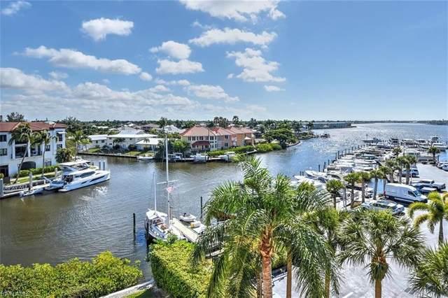 807 River Point Dr 202D, NAPLES, FL 34102 (#221008553) :: Vincent Napoleon Luxury Real Estate