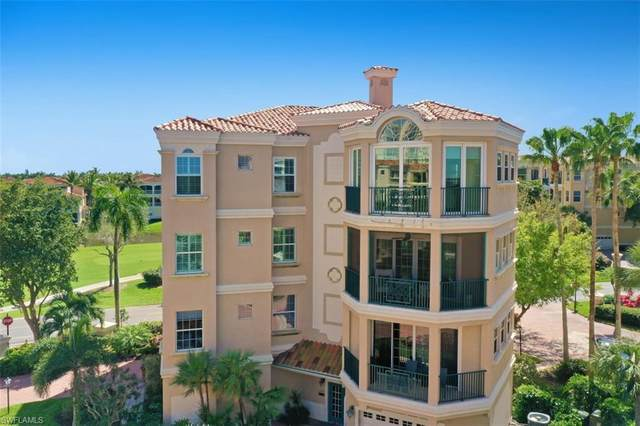 14358 Harbour Landings Dr 5B, FORT MYERS, FL 33908 (MLS #221014137) :: Coastal Luxe Group Brokered by EXP