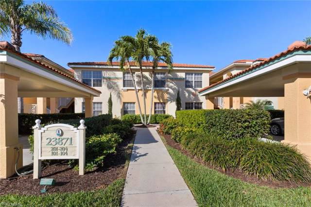 23871 Costa Del Sol #103, ESTERO, FL 34135 (MLS #220005324) :: Kris Asquith's Diamond Coastal Group