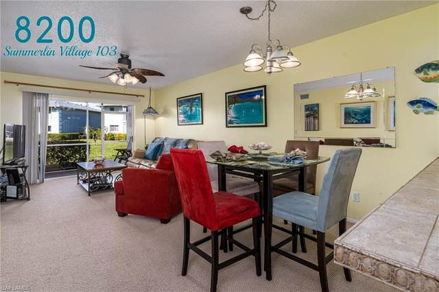 8200 Summerlin Village Cir #103, FORT MYERS, FL 33919 (MLS #220010659) :: Kris Asquith's Diamond Coastal Group