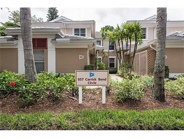 937 Carrick Bend Cir #101, NAPLES, FL 34110 (#217041546) :: Homes and Land Brokers, Inc