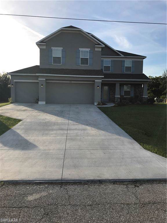 816 NW 37th Pl, CAPE CORAL, FL 33993 (#220003218) :: Jason Schiering, PA