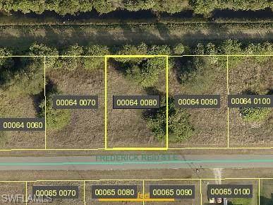 821 Frederick Reid St E, LEHIGH ACRES, FL 33974 (MLS #221050959) :: Wentworth Realty Group