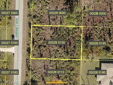 1019 Garnet Ave, LEHIGH ACRES, FL 33974 (MLS #221063567) :: Realty World J. Pavich Real Estate
