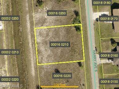 1132 Harry Ave S, LEHIGH ACRES, FL 33973 (MLS #221074500) :: Medway Realty