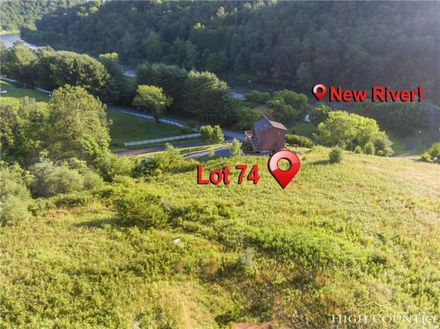 Lot 74 New River Landing, Crumpler, NC 28617 (MLS #201974) :: Keller Williams Realty - Exurbia Real Estate Group