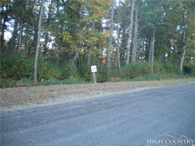 Lot 10 Pine Chase Drive, Glade Valley, NC 28627 (MLS #203521) :: Keller Williams Realty - Exurbia Real Estate Group