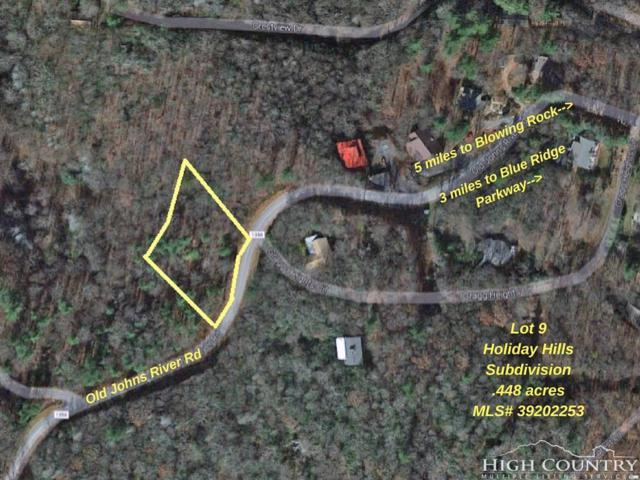 Lot 9 Old Johns River Road, Blowing Rock, NC 28605 (MLS #204311) :: Keller Williams Realty - Exurbia Real Estate Group