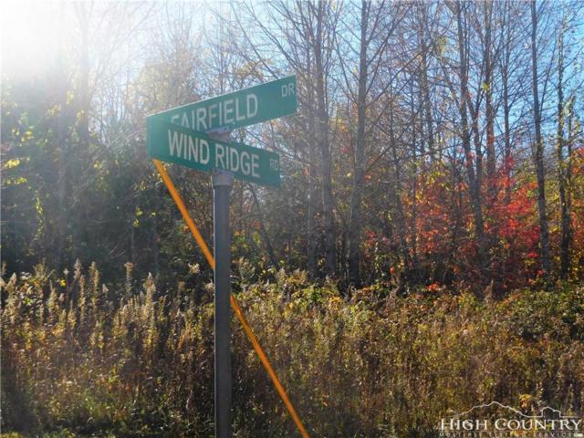 Lot 7 Wind Ridge Road, Sparta, NC 28675 (MLS #204364) :: Keller Williams Realty - Exurbia Real Estate Group